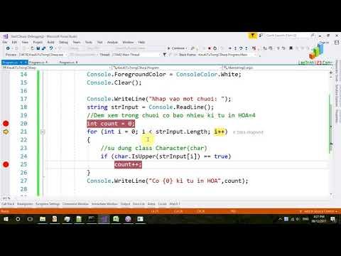 VD37 - Kiểu kí tự trong C#