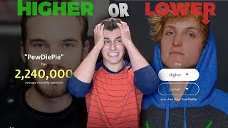 Who Is More Popular? (Higher or Lower)