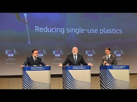E.E.: Τέλος στα πλαστικά μίας χρήσης