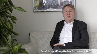 Bernd Lange - Europäisches Parlament - S&D Group