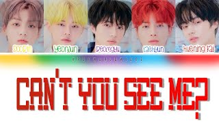 TXT - Can't You See Me? (Color Coded Lyrics _ HAN/ROM/ENG]