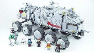 LEGO Star Wars: Clone Turbo Tank 8098 Review!!! From 2010!!