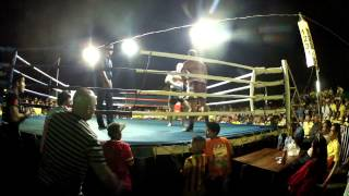 preview picture of video 'Muay Thai - Round 4 - Mike Saint Claire vs Mai Khao Lak'