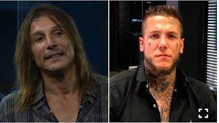 """El Fuerte Chat Entre Claudio Caniggia Y Su Hijo Alex: """"Cambiate El Apellido Ya"""""""