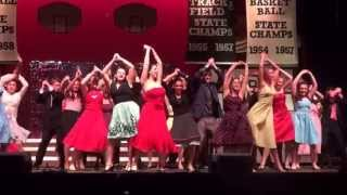 """Shakin at the High School Hop"", Grease, Cherokee HS 2013, Marlton, NJ"