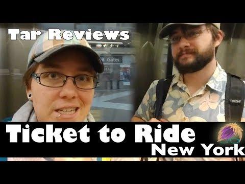 Tar Reviews: Ticket to Ride New York