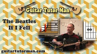 If I Fell - The Beatles - Acoustic Guitar Lesson
