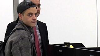 Mr Robot Star Rami Malek Looking Cool At LAX