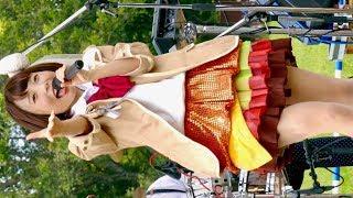 まいどハンバーガールZ・ラブリーマッシュルームむーちゃん「乙女は流星」ふかきた音楽祭深北緑地・芝生広場