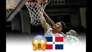 Selección Dominicana 2018 Rigoberto Mendoza, Victor Liz (FIBA) (Capitanes LNBP)