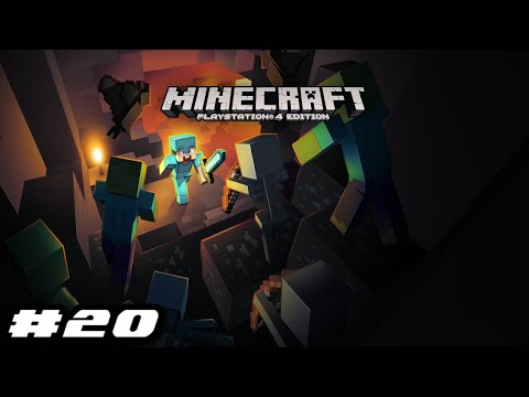 Minecraft PS4 Survival Mode 2020 Gameplay - I'M LOST