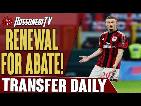 Renewal For Abate! | AC Milan Transfer Daily | Rossoneri TV