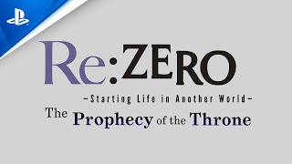 PlayStation Re:ZERO - Starting Life in Another World: The Prophecy of the Throne - New Character Reveal | PS4 anuncio