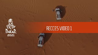 Recces video 1 - Dakar 2021