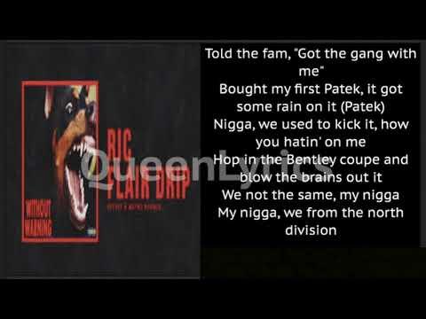Ric Flair Drip Lyrics-QueenLyrics👑