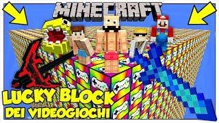 LA SFIDA DEI LUCKY BLOCK GIGANTI DEI VIDEOGIOCHI! - Minecraft ITA