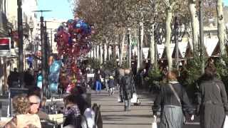 preview picture of video 'Perpignan - Diciembre 2013'
