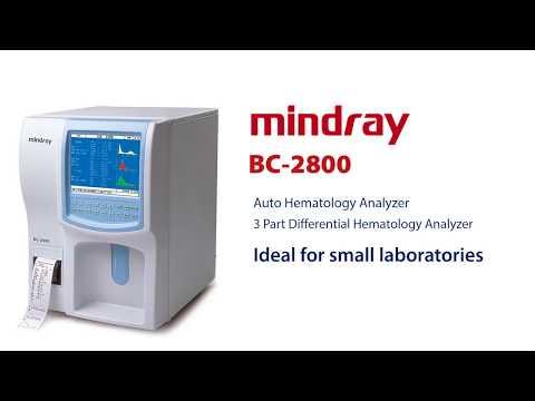 Mindray Cell Counter - Mindray Hematology Analyzer Latest