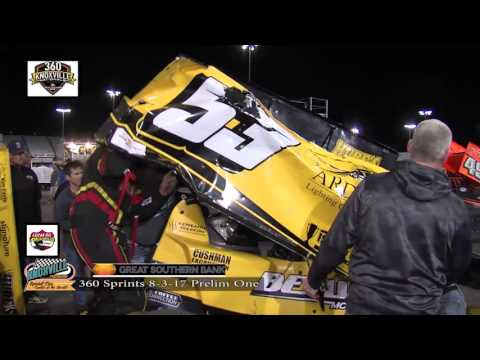 360 Knoxville Nationals Crash and Thrash!