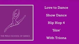 Love to Dance 'Size' show dance with Triona