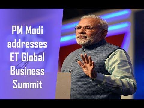PM Modi to address ET Global Business Summit