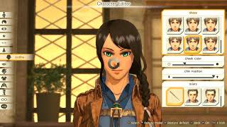 ATTACK ON TITAN 2   Full Female Character Creation PS4 Pro