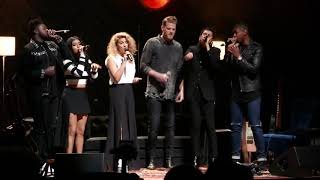 """Tori Kelly and Pentatonix """"Perfect"""" Cover Orpheum Theater"""