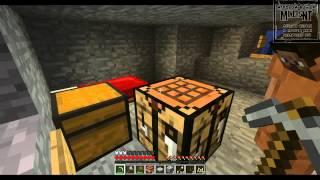 Играем в Minecraft на острове 1-ая серия