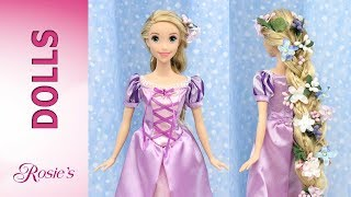 Rapunzel's Braid from Disney Movie Tangled - Tutorial