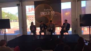 Forbes Under 30 - Panel Discussion