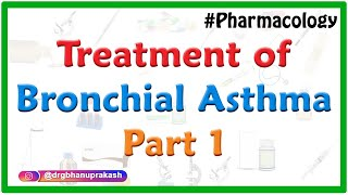 Treatment of Bronchial Asthma - Part 1 , Medvizz pharmacology