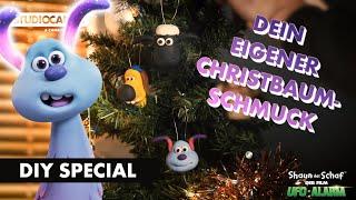 SHAUN DAS SCHAF | Do it Yourself Special | Christbaumschmuck kneten