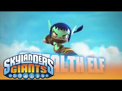 Meet the Skylanders: Series 2 Stealth Elf l Skylanders Giants l Skylanders
