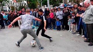 INSANE NUTMEGS! Touzani VS World (+100 Crazy Street Football Pannas)