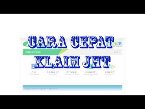 CARA MUDAH KLAIM JAMINAN HARI TUA  (JHT) BPJS