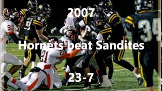 2014 Sand Springs Sandites versus Booker T Washington