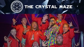 I played the Crystal Maze Experience in London!