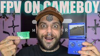 Fpv drones on a gameboy?!