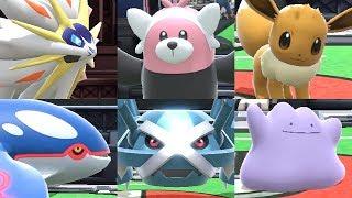Super Smash Bros Ultimate - All Pokeball Pokemon