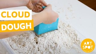 Easy Sensory Play For Kids: Cloud Dough