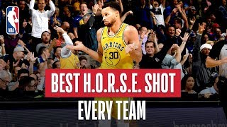 NBA's Best H.O.R.S.E. Shot Of Every Team | 2018-19 NBA Season