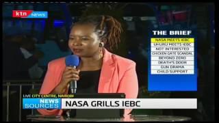 News Sources: CORD Leader Raila Odinga grills IEBC on voter registration favors, 8/02/17 part 1