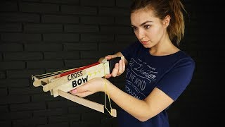 How to Make an Awesome Crossbow that Shoots Pencils