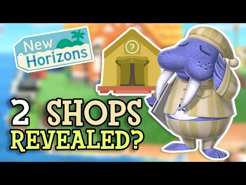 Download Animal Crossing New Horizons: NEW SHOPS Revealed? (More Unreleased Features Discovered - Buildings?) Mp4 HD Video and MP3