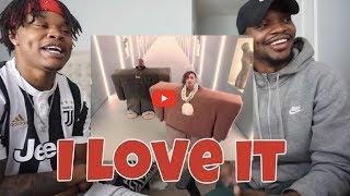"""Kanye West & Lil Pump Ft. Adele Givens   """"I Love It""""   REACTION"""