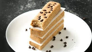 The BEST NO BAKE Homemade Oatmeal Peanut Butter Chocolate Chip PROTEIN BARS RECIPE