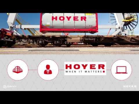 Telematik in der Containerlogistik - SAVVY® Technologiepartner der HOYER Group