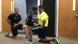 Technique Tuesday: half kneeling step-through