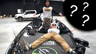 What's HIDING in HIS BOAT?? ( LFG Tour)