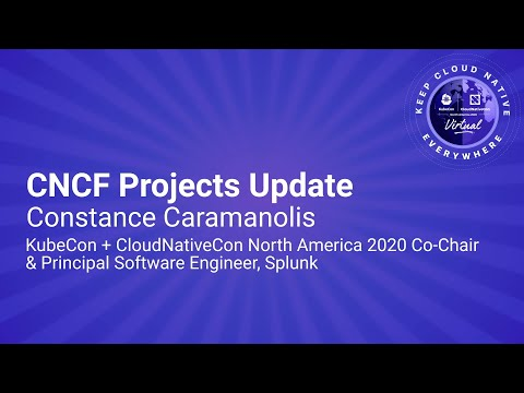 Image thumbnail for talk Keynote: CNCF Projects Update